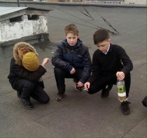 Что делают плохие дети после школы?