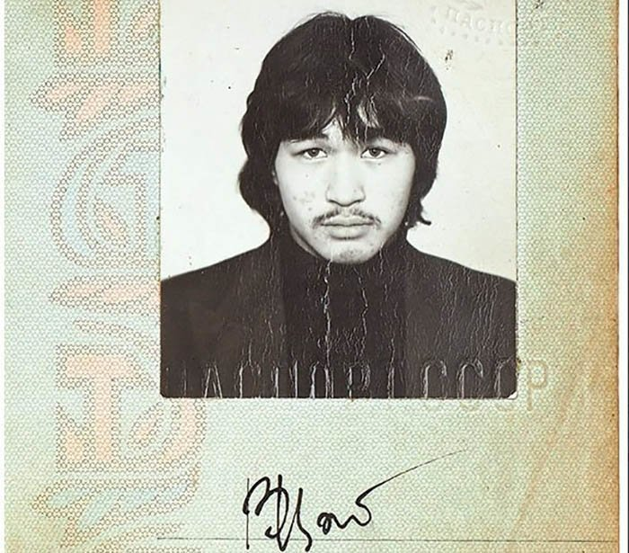 Записную книжку Виктора Цоя и его паспорт продали на аукционе за 15 млн рублей (2фото)