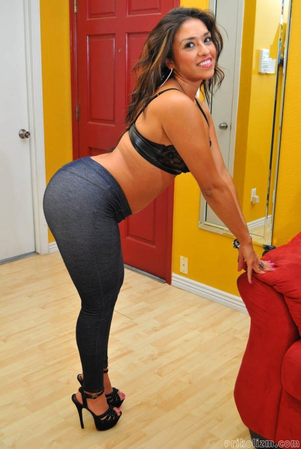 Plump ass perfect skinny girl