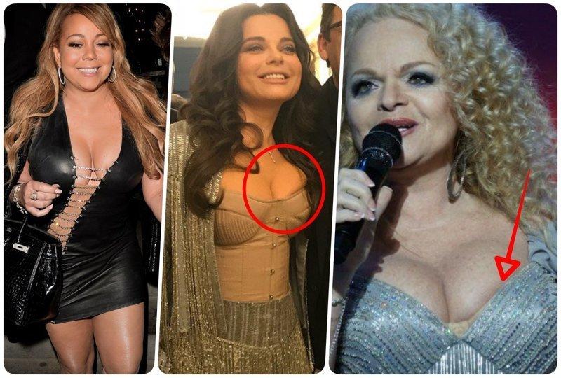 Знаменитости, в одежде на несколько размеров меньше (15фото)