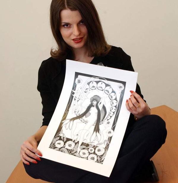 Эротические рисунки карандашом художника Ланы Дорошевой (23 картинки)
