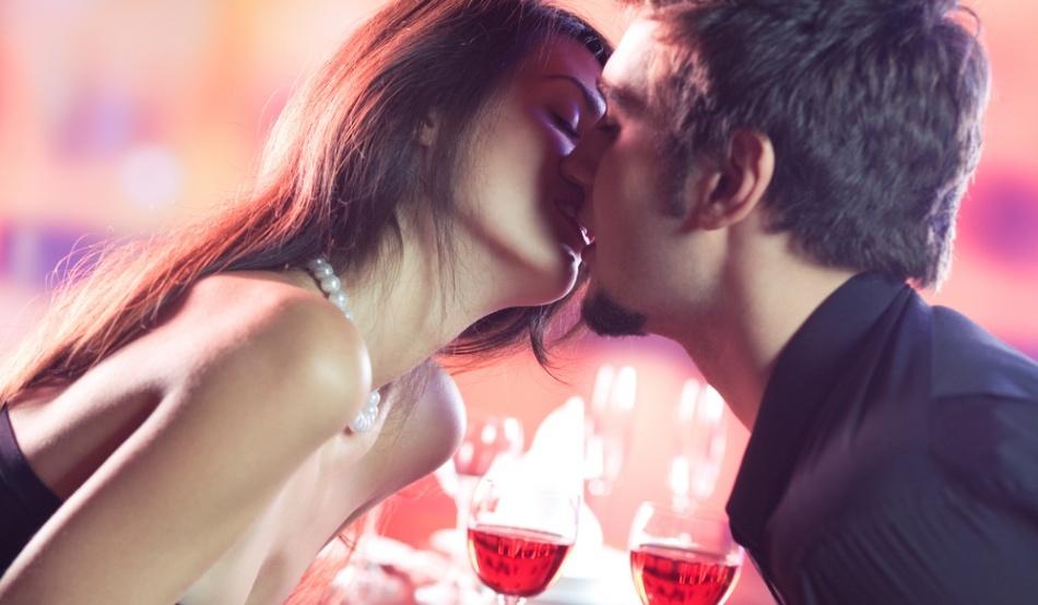 Поцелуйна первом свидании