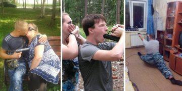Очень опасные чудаки России в социальных сетях (28фото)