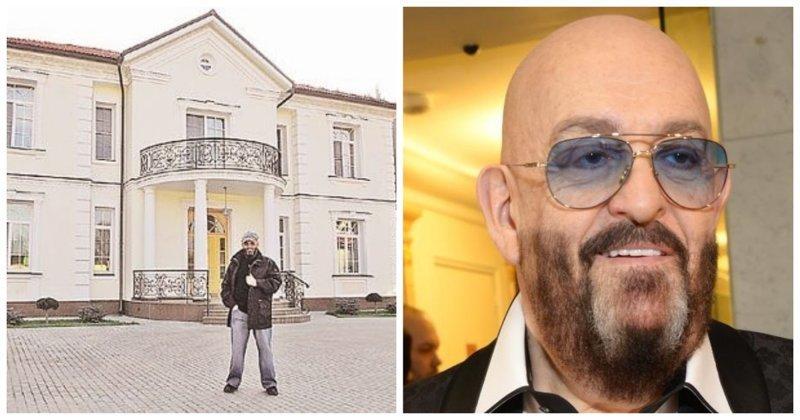 Михаил Шуфутинский продает свой роскошный особняк в США (5фото+1видео)