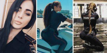 Красивые девушки из российской полиции (25 фото)