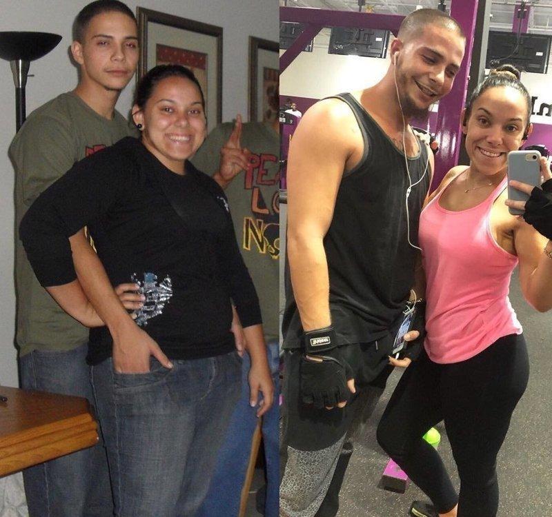 Как меняются люди после того, как сбросят лишний вес (24фото)