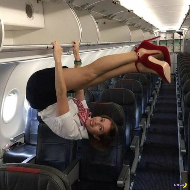"""Прикольные фото очаровательных стюардесс (29 фото)"""""""