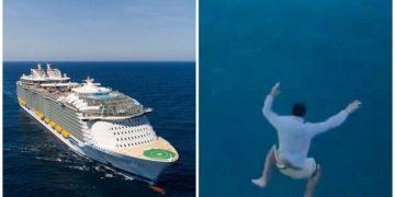 Пьяный турист спрыгнул с одиннадцатого этажа огромного круизного лайнера