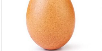 Яйцо набрало 25 миллионов лайков за 10 дней в Instagram (2 фото)