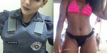 Шикарные девчонки в униформе и без нее (30 фото)