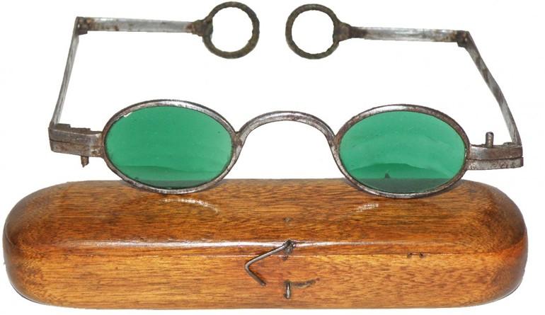 Солнцезащитные очки во времена Наполеона