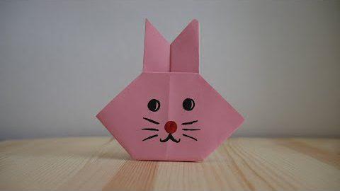 Оригами. Как сделать зайца из бумаги