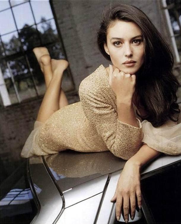 Величайшая итальянская актриса и модель Моника Беллуччи