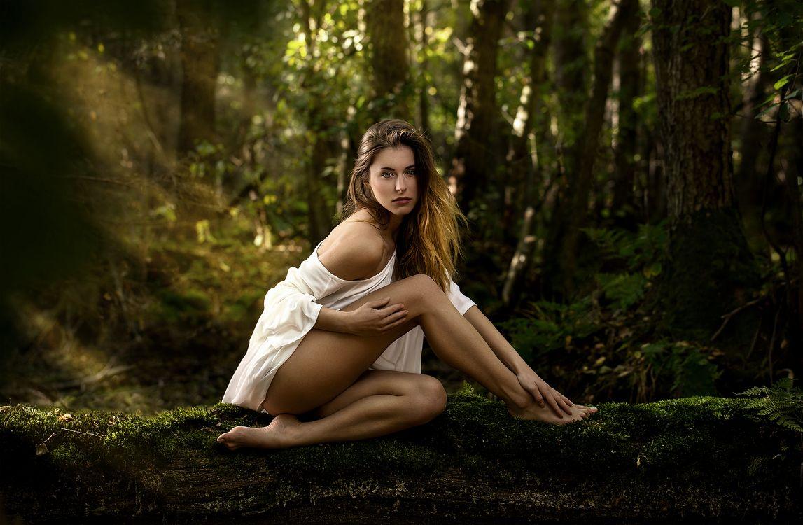 Женская чарующая красота