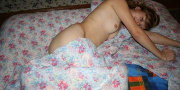 Приватное фото молодой русской девушки