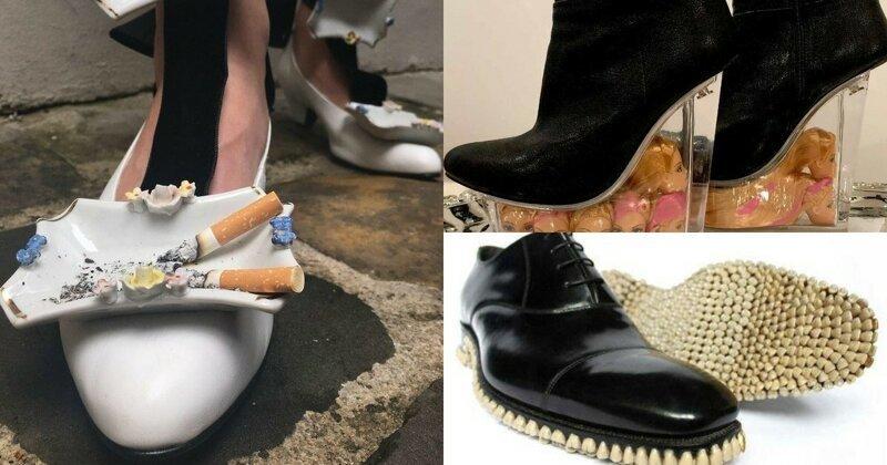 """""""Я художник - я так вижу!"""": 25 пар обуви, которую сложно представить это на нас (26фото)"""