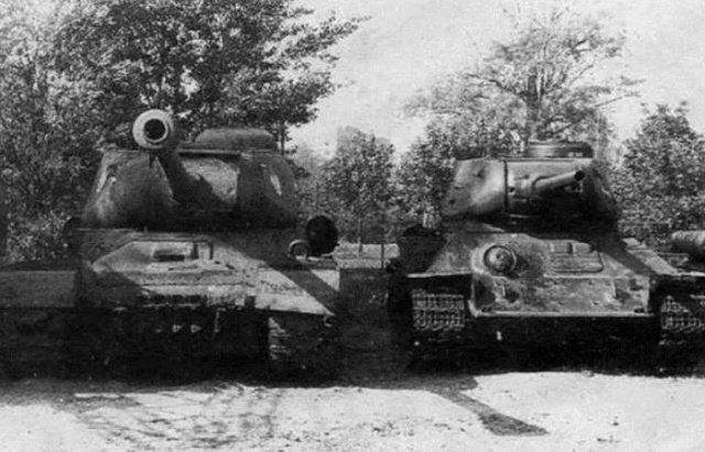Почему в годы ВОВ на ствол советских танков иногда вешали ведро? (5 фото)