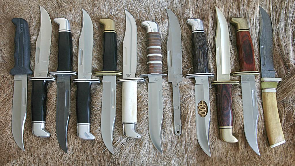 различные модели ножей от изготовителей Германии